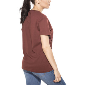 66° North Logn Sailor T-Shirt Unisex Ox Blood